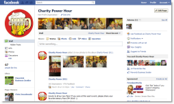 Charity Power Hour on Facebook