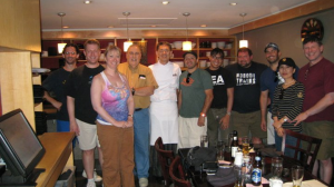 MBI Group with Chef Kaz